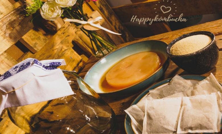 Make your fermented tea with Kombucha